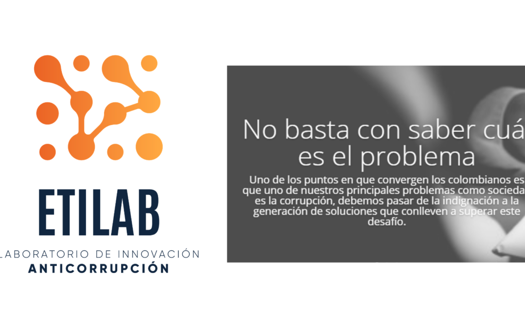 Etilab: anti-corruption innovation laboratory, a space that is built and fuelled by public will
